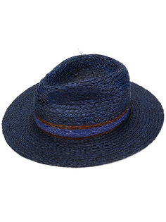 плетеная шляпа-трилби Paul Smith