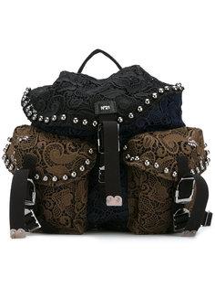 вышитый рюкзак Nº21