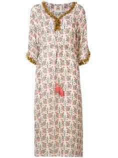 декорированное платье-кафтан Figue
