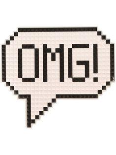 наклейка OMG  Anya Hindmarch