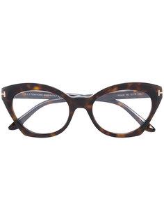 cateye acetate glasses Tom Ford Eyewear
