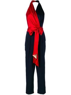 комбинезон с лямкой через шею и поясом  Diane Von Furstenberg