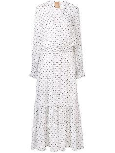 платье с мелким узором Pascal Millet