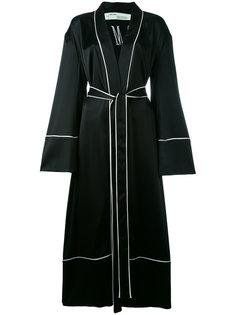 халат-пальто с поясом Off-White