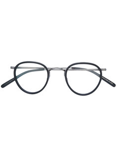 round frame glasses Oliver Peoples