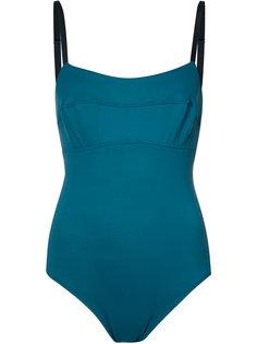 stitched detail swimsuit Malia Mills