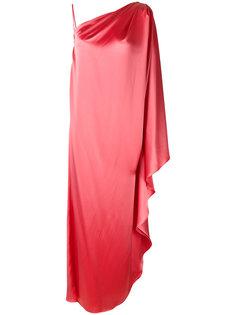 платье-туника на одно плечо  Gianluca Capannolo
