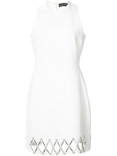 приталенное платье David Koma