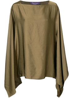 Блуза с квадратной горловиной Ralph Lauren Collection