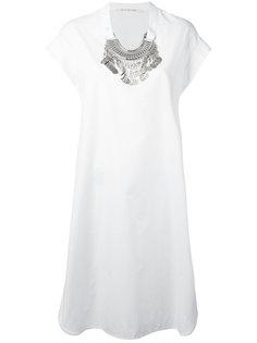 oversized necklace dress Miahatami
