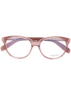 очки с овальной оправой Saint Laurent