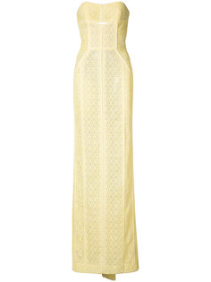 lace gown J. Mendel