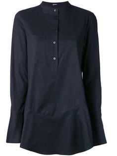 рубашка с расклешенным подолом Jil Sander Navy