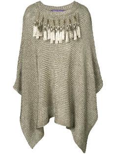 вязаное платье-накидка Ralph Lauren Collection