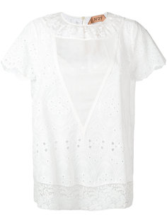 блузка с вышивкой Nº21