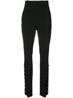 high waist metal ball hem trousers David Koma