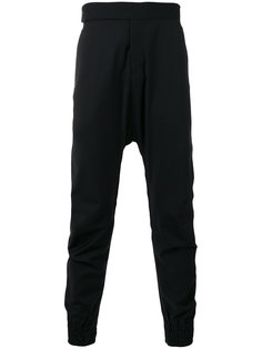 брюки с заниженной проймой Odeur