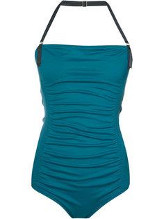 gathered detail swimsuit Malia Mills