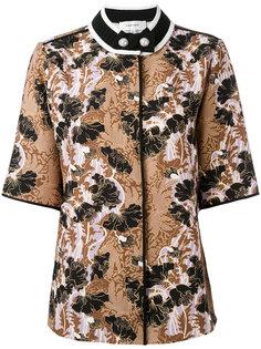 жаккардовая рубашка с короткими рукавами  Carven