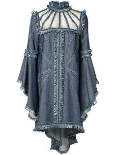 платье с оборками Andrew Gn