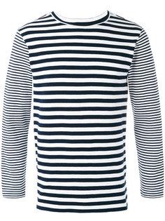 striped T-shirt Blue Blue Japan
