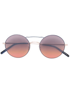Nickol round frame sunglasses Oliver Peoples