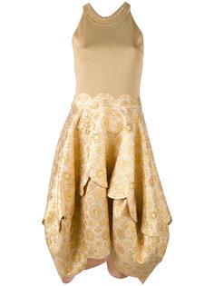 embroidered flared dress Antonio Berardi