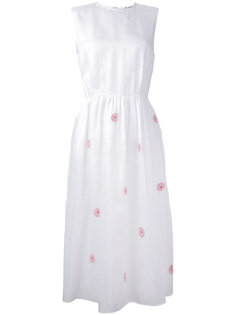 платье с цветочной вышивкой  Jupe By Jackie