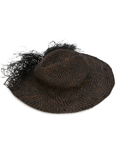 плетеная шляпа-трилби Isabel Benenato