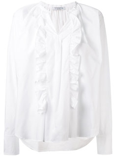 блузка с оборками Vivetta