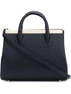 сумка-тоут с эффектом крокодиловой кожи Thomas Wylde