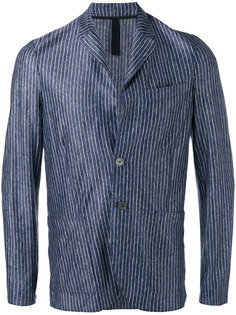 patch pockets striped blazer Harris Wharf London