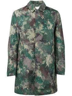 пальто с камуфляжным принтом Mackintosh