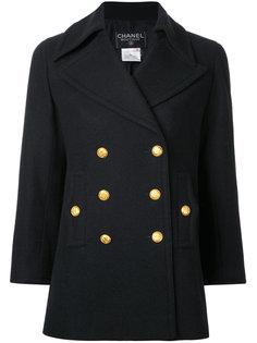 пальто с укороченными рукавами Chanel Vintage