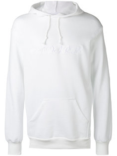 embroidered oversized hoodie Rodarte