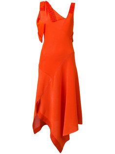 асимметричное платье миди  Victoria Beckham