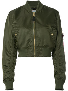 cropped bomber jacket Alpha Industries