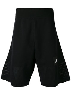 шорты-бермуды с логотипом Adidas