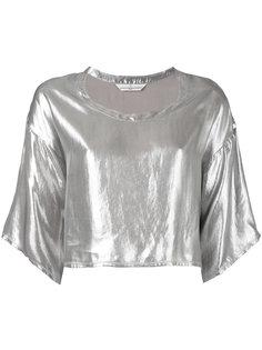 укороченная футболка Golden Goose Deluxe Brand