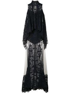 layered lace gown  Jonathan Simkhai