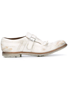 fringed buckle loafers  Churchs