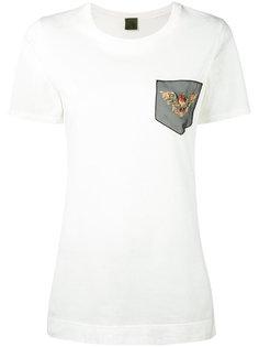 футболка с отделкой  Mr & Mrs Italy