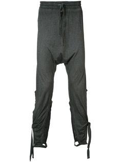 спортивные брюки с завязками Barbara I Gongini