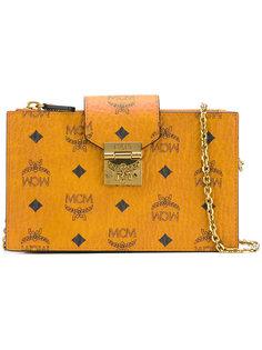 сумка через плечо с принтом-логотипом MCM