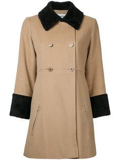 пальто с длинными рукавами с логотипом CC Chanel Vintage