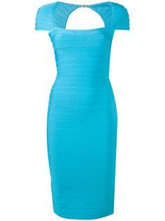 облегающее платье  Hervé Léger