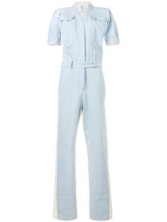джинсовый комбинезон с короткими рукавами Rosie Assoulin