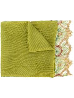 кружевной шарф с плиссировкой Valentino Garavani Valentino
