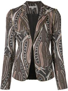 Pine Cone print blazer Sophie Theallet