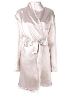 халат с завязкой на поясе Attico